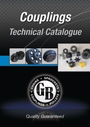 GB Couplings - Chain and Drives Australia