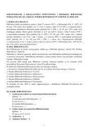 1 sprawozdanie z działalności powiatowej i ... - Biblioteka Gniew