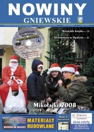 Nowiny Grudzień 2008.indd - Biblioteka Gniew