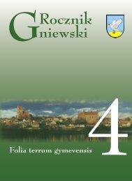 Rocznik Gniewski 4.indd - Biblioteka Gniew