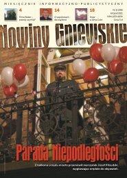 Z balkonu urzędu miasta przemówił marszałek ... - Biblioteka Gniew