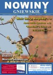 Nowiny Kwiecień 2009.indd - biblioteka.gniew.wbpg.org.pl
