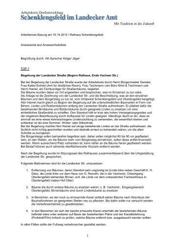 Protokoll vom 16.04.2012