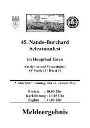 Burchard - Schwimmverein Horst 1919 e.V.
