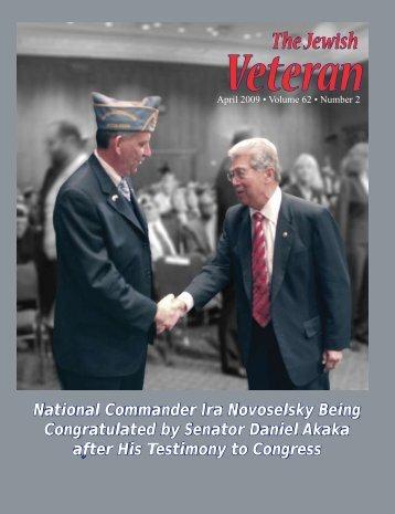 Number 2, Season: Spring - Jewish War Veterans of the United States