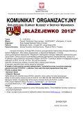 Komunikat Ogólnopolska Olimpiada Młodzieży Wędkarskiej ... - pzw - Page 2