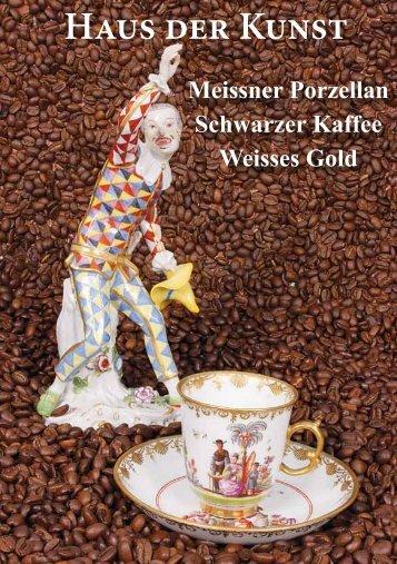 Schwarzer Kaffee  - Weisses Porzellan
