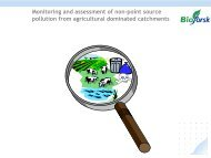 Monitoring and assessment of non-point source pollution from ...