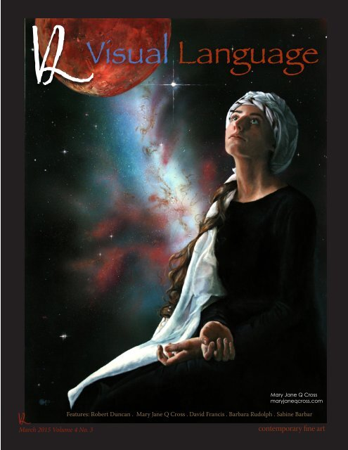Visual Language Magazine Contemporary Fine ARt Vol 4 No 3 March 2015