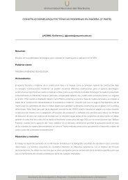 038 - Facultad de Arquitectura y Urbanismo - Universidad Nacional ...