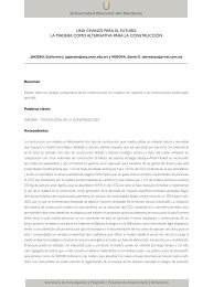 052 - Facultad de Arquitectura y Urbanismo - Universidad Nacional ...