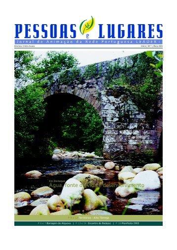 Água, fonte de vida e desenvolvimento - Associação Douro Histórico