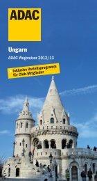 ADAC Wegweiser Ungarn