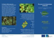 Folheto do projecto - Minha Terra