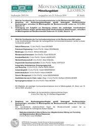 MBL 30 25-02-2004.pdf - Montanuniversität Leoben