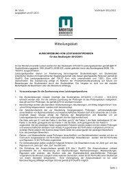 Ausschreibung von Leistungsstipendien für das Studienjahr 2012 ...