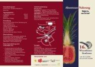 Flyer mit Programm der 16. Witzenhäuser Konferenz als pdf (300 kb)