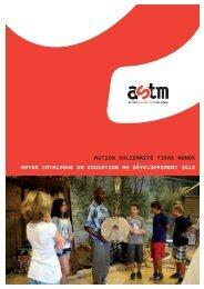 catalogue en éducation au développement 2012 - Cercle de ...