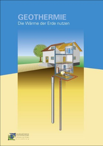 Geothermie-A5 brochure.indd - Klima-Bündnis Lëtzebuerg