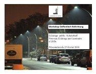 Workshop Oeffentlech Beliichtung Eclairage public Scheierhaff ...