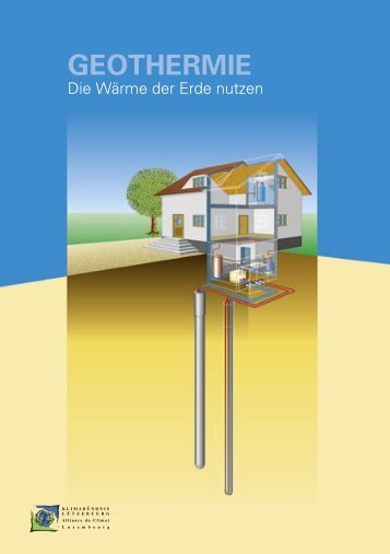 Geothermie-A5 brochure-DE.indd - Klima-Bündnis Lëtzebuerg