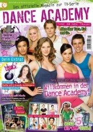 Panini Dance Academy Leseprobe - Panini Newsroom