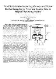 Thin Film Adhesion Measuring of Conductive Silicon ... - Eeeic.eu