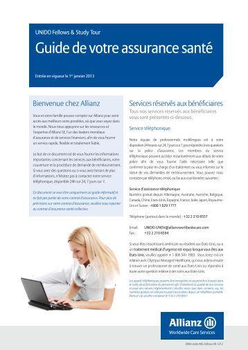 Telecharger l 39 originale de notre assurance allianz 2013 - Questionnaire de sante assurance ...