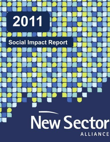 2011 Social Impact Report - New Sector Alliance