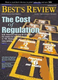 Want to read Best's Review in print? Subscribe and save 50%! - BIPAC