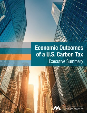 Economic Outcomes of a U.S. Carbon Tax: Executive Summary