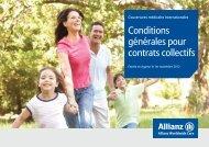 Conditions générales pour contrats collectifs - Indigo Expat