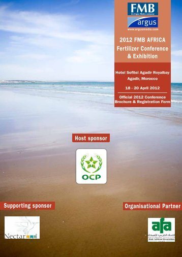 2012 FMB AFRICA Fertilizer Conference & Exhibition ... - Argus Media