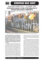 a study of the human cost of EU deportation policies, 2009-2010