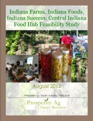 Central Indiana Food Hub Feasibility Study - National Good Food ...