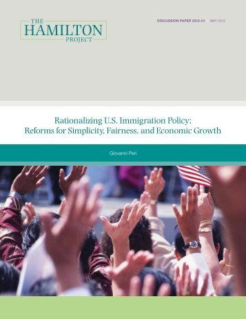 Rationalizing US Immigration Policy - Hans & Tamar Oppenheimer ...
