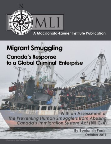 Migrant Smuggling - Hans & Tamar Oppenheimer Chair in Public ...