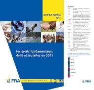 Les droits fondamentaux: défis et réussites en 2011 - European ...