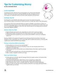 Tips for Customizing Munny - Hero Design Studio