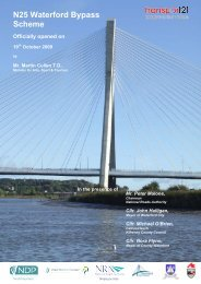 N25 Waterford Bypass Opening Brochure - National Roads Authority