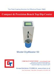 Compact & Precision Bench Top Dip Coater - NDN