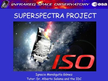 "Infrared Space Observatory Spectral Atlas (""superspectra project"")"