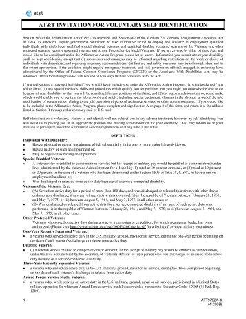 Voluntary Self-Identification Form - Delaware North