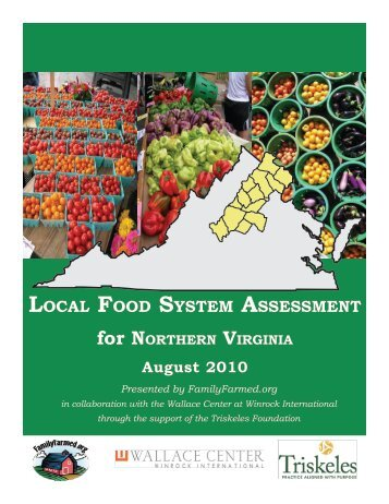 local food system assessment - Agricultural Marketing Service