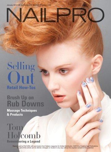 Retail How-Tos Brush Up on Rub Downs Massage ... - NailGrafx