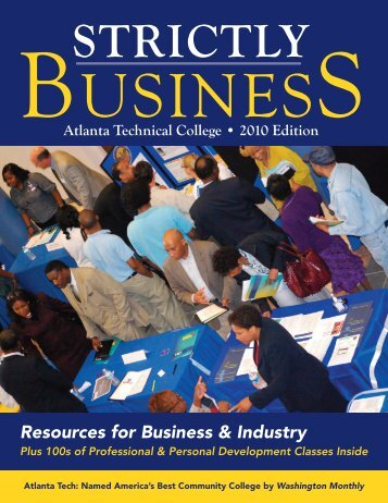 STRICTLY USINES - Atlanta Technical College