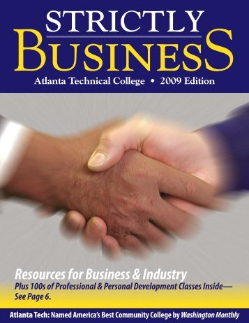 Resources for Business & Industry - Atlanta Technical College