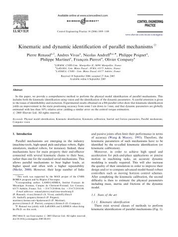 enumeration of kinematic chains and mechanisms Efficient enumeration and hierarchical classification of planar simple-jointed kinematic chains: application to 12- and 14-bar single degree-of-freedom chains mechanism and machine theory , 40 (9), 1030-1050.