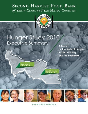 Download the full Hunger Study - Second Harvest Food Bank