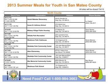 San Mateo County Food Bank